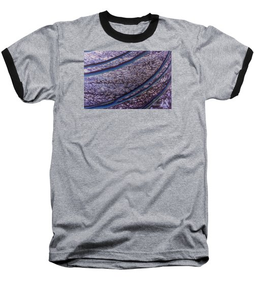 Abstract Lines. Baseball T-Shirt
