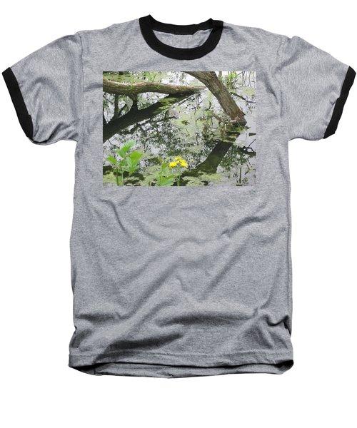 Abstract Nature 2 Baseball T-Shirt