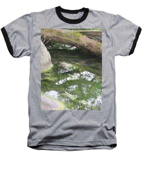 Abstract Nature 3 Baseball T-Shirt