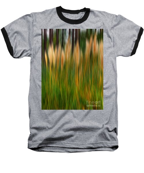 Abstract Of Movement Baseball T-Shirt