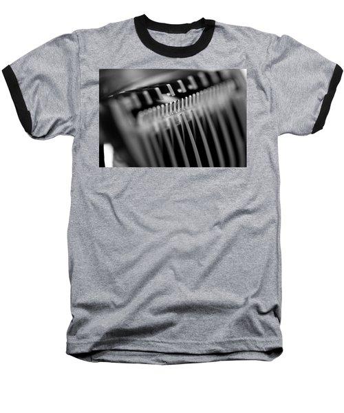 Abstract Razor Baseball T-Shirt
