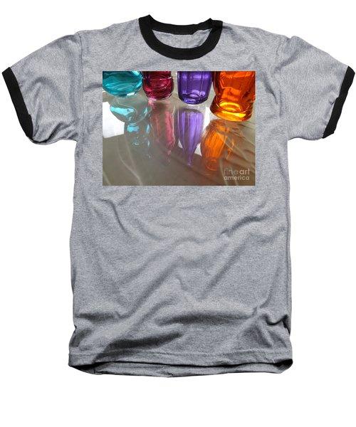 Abstract Reflections #4 Baseball T-Shirt