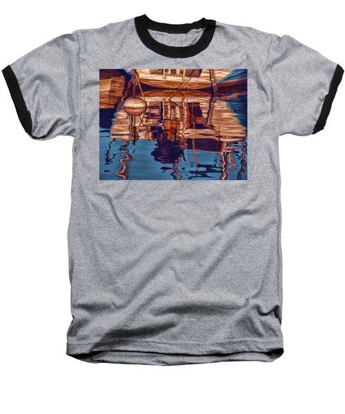 Abstract Reflections Baseball T-Shirt