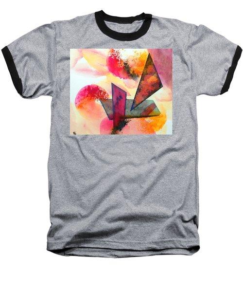 Abstract Shapes Baseball T-Shirt
