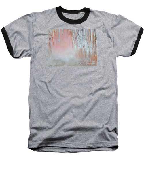 Abstract Spring Baseball T-Shirt by Donna Dixon