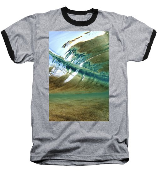 Abstract Underwater 2 Baseball T-Shirt
