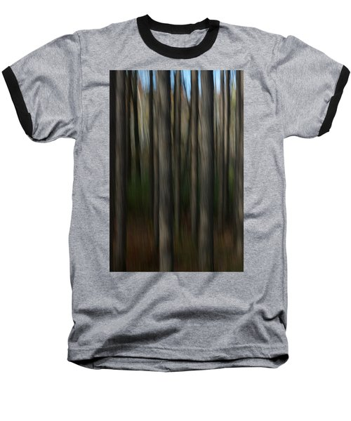 Abstract Woods Baseball T-Shirt