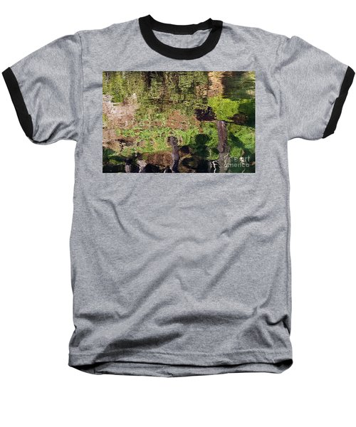 Baseball T-Shirt featuring the photograph Abstracted Reflection by Kate Brown