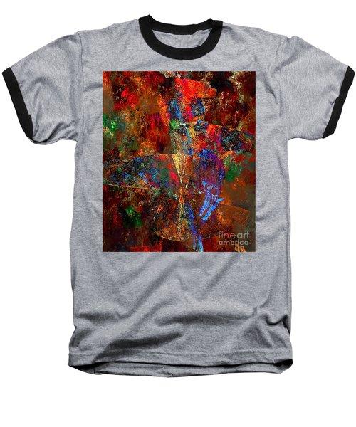 Abstraction 0393 Marucii Baseball T-Shirt
