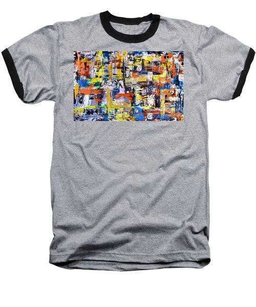 Abstraction 759 - Marucii Baseball T-Shirt