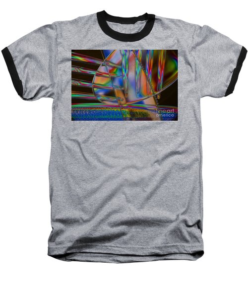 Abstraction In Color 1 Baseball T-Shirt