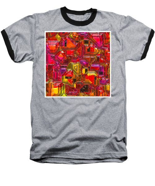 Abstractions... Baseball T-Shirt by Tim Fillingim