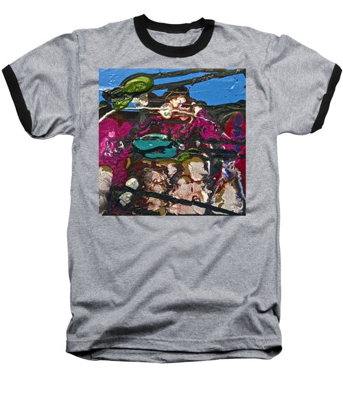 Abstracts 14 - Seascapes Baseball T-Shirt