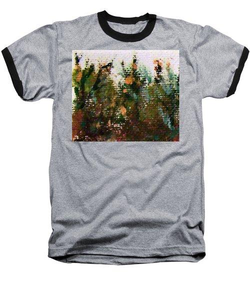 Abstrakt In Grun Baseball T-Shirt