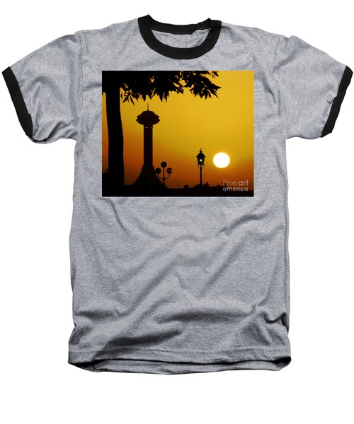 Baseball T-Shirt featuring the photograph Abu Dhabi by Andrea Anderegg