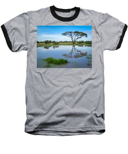 Acacia Tree Baseball T-Shirt