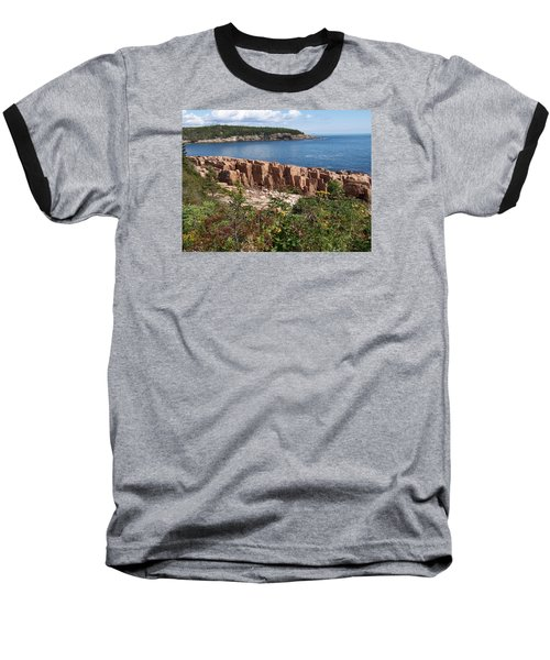 Acadia Maine Baseball T-Shirt by Catherine Gagne