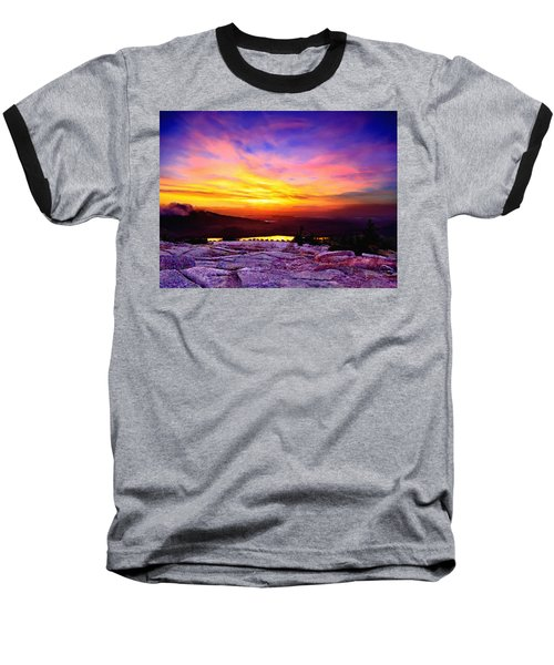 Acadia National Park Cadillac Mountain Sunrise Forsale Baseball T-Shirt