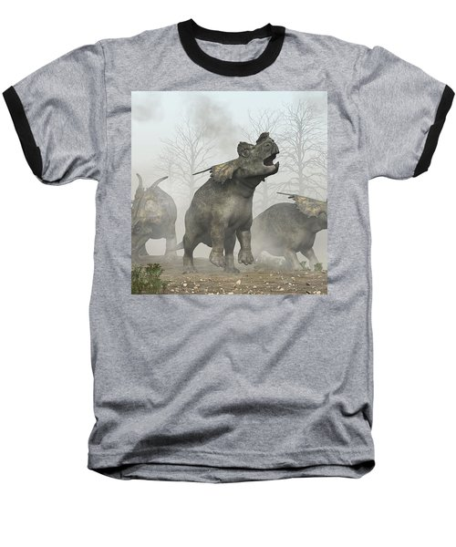 Achelousauruses Baseball T-Shirt
