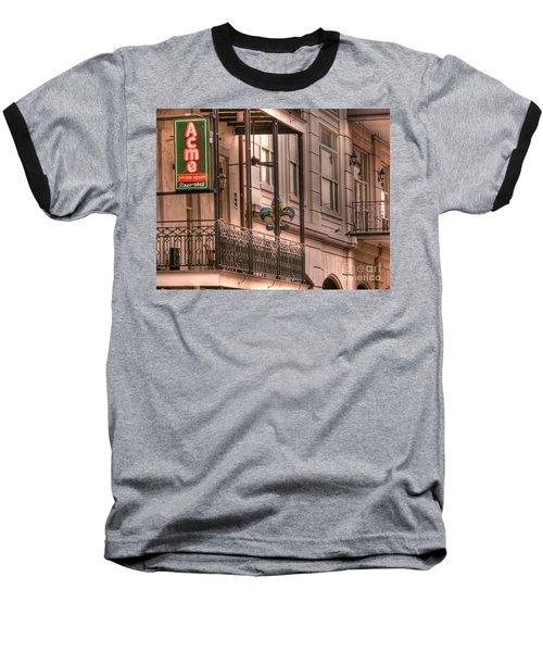 Acme Oyster House Baseball T-Shirt by David Bearden