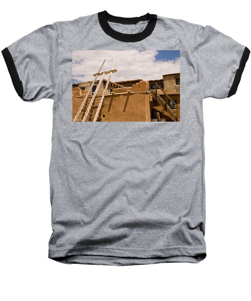 Acoma Building Baseball T-Shirt