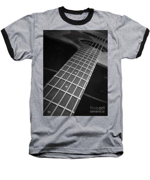 Acoustic Guitar Baseball T-Shirt