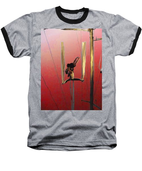Acrobatic Aerial Artistry1 Baseball T-Shirt