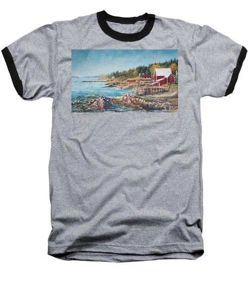 Across The Bridge Baseball T-Shirt