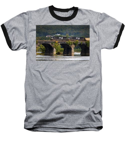 Across The Rockville Baseball T-Shirt by Paul W Faust -  Impressions of Light