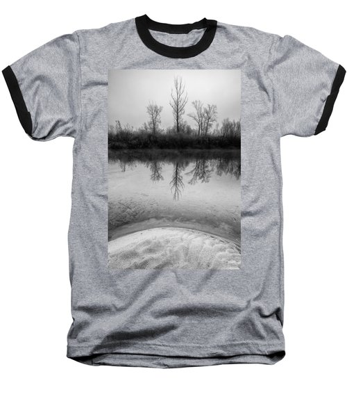 Across The Water Baseball T-Shirt by Davorin Mance