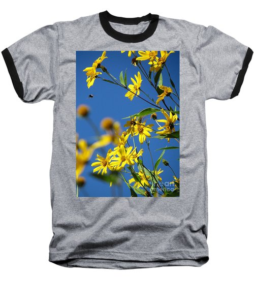 Baseball T-Shirt featuring the photograph Action by France Laliberte