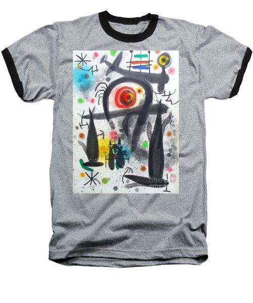Acuatico Triunfo De La Imaginacion Baseball T-Shirt