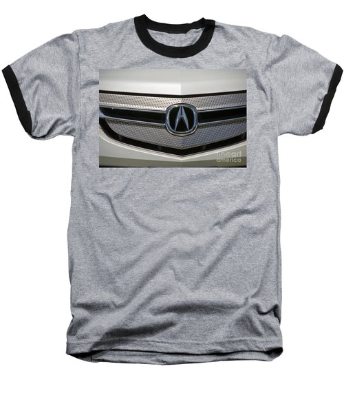 Acura Grill Emblem Close Up Baseball T-Shirt