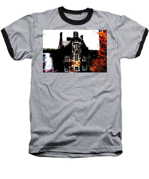 Baseball T-Shirt featuring the photograph Adare Manor by Charlie and Norma Brock