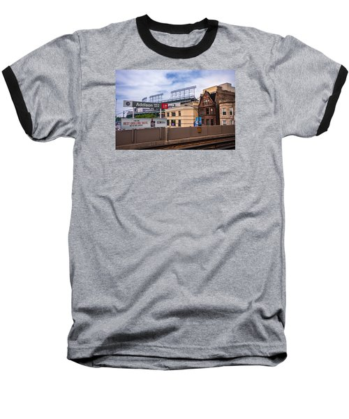 Addison Street Station Baseball T-Shirt