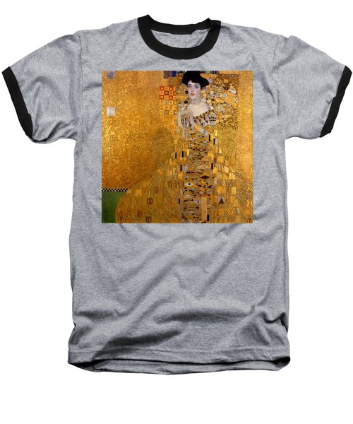 Adele Bloch Bauers Portrait Baseball T-Shirt by Gustive Klimt
