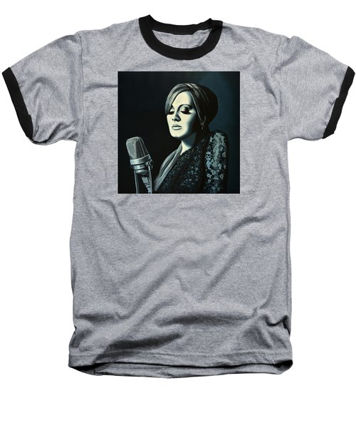 Adele 2 Baseball T-Shirt by Paul Meijering