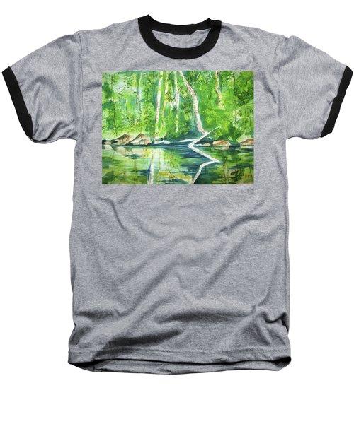 Adirondack Zen Baseball T-Shirt