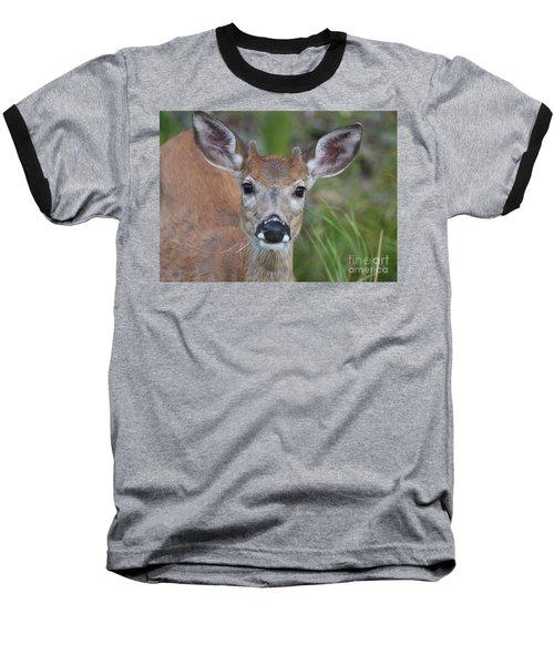 Adolescent Curiosity Baseball T-Shirt