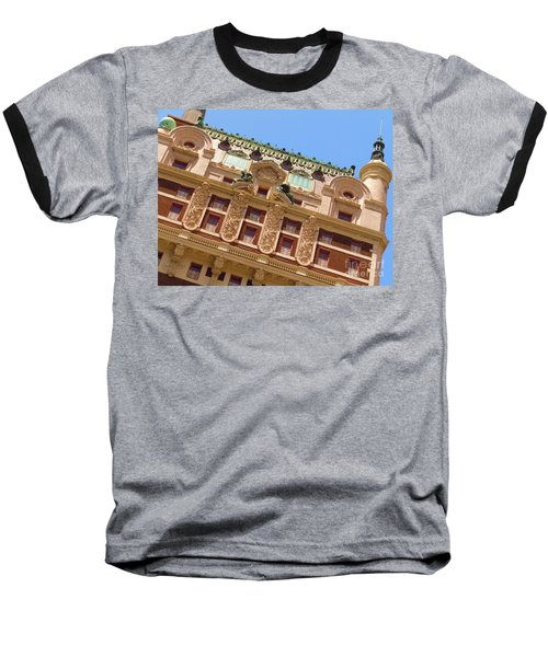 Baseball T-Shirt featuring the photograph Adolphus Hotel - Dallas #1 by Robert ONeil