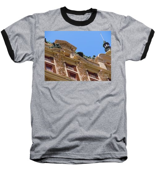 Baseball T-Shirt featuring the photograph Adolphus Hotel - Dallas #2 by Robert ONeil