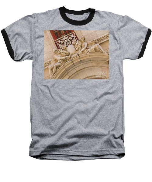 Baseball T-Shirt featuring the photograph Adolphus Hotel - Dallas #3 by Robert ONeil
