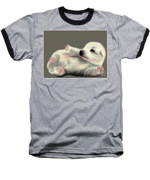 Adorable Pup Baseball T-Shirt