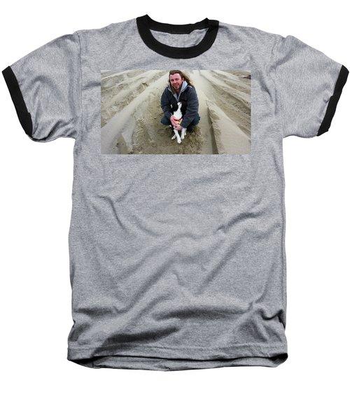 Adoring Look Baseball T-Shirt by Susan Garren