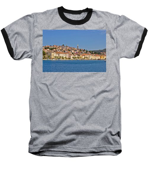 Adriatic Town Of Mali Losinj View From Sea Baseball T-Shirt
