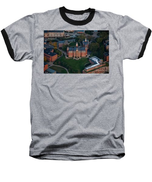 Aerial Of Woodburn Hall Baseball T-Shirt by Dan Friend