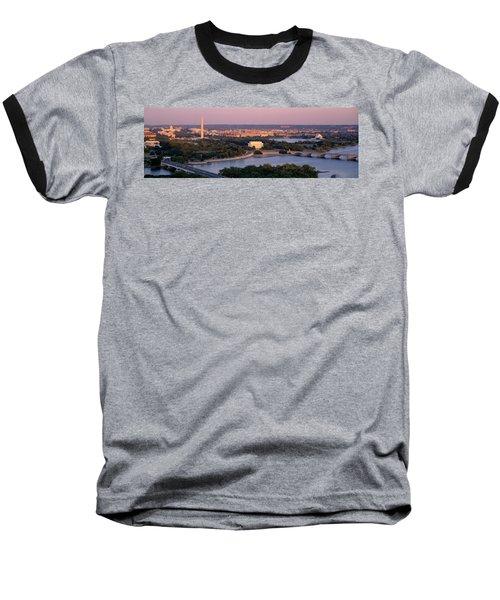 Aerial, Washington Dc, District Of Baseball T-Shirt