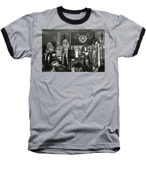 Aerosmith - Aerosmith Tour 1973 Baseball T-Shirt by Epic Rights