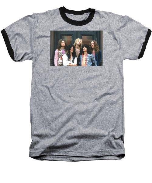 Aerosmith - Boston 1973 Baseball T-Shirt by Epic Rights