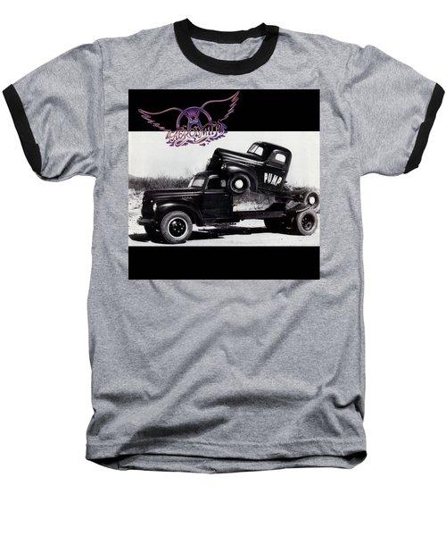 Aerosmith - Pump 1989 Baseball T-Shirt by Epic Rights